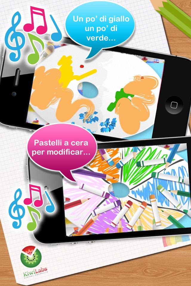 Screenshot I Colori Parlanti – impara e riconosci i colori!